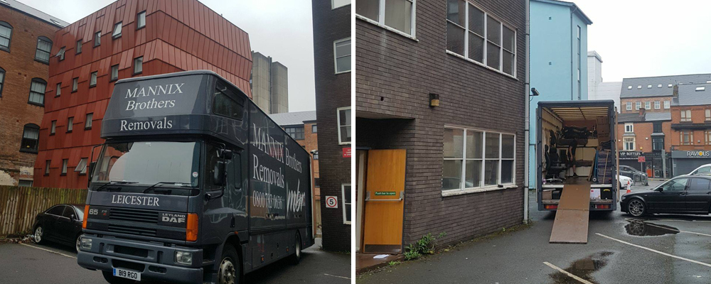 office removal company for businesses in Leicester