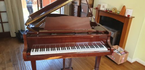 Baby grand piano relocation