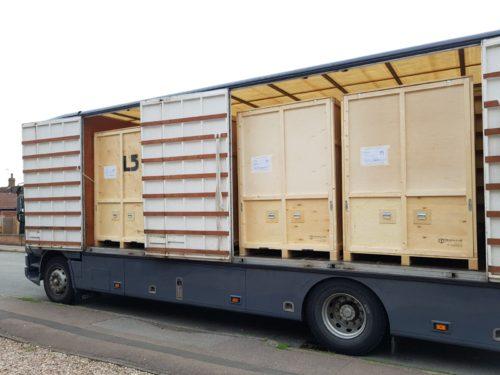 Containerised storage crates