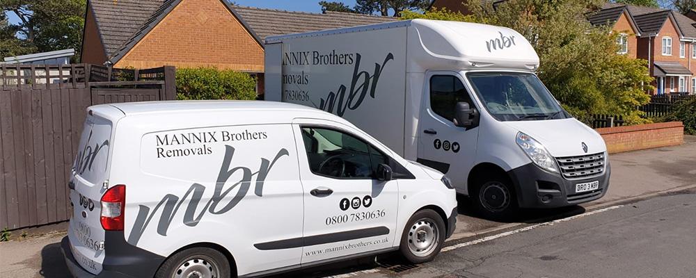 Mannix Brothers Removals Vans