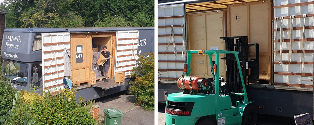short term storage for home movers